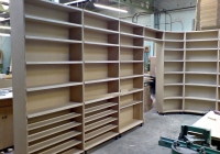 MDF book shelves